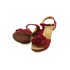 Chie mihara floral suede sandals 2