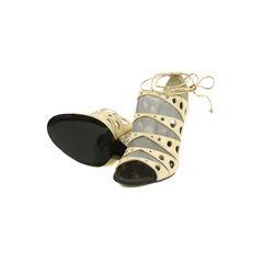 Proenza schouler mesh cut out sandals 2