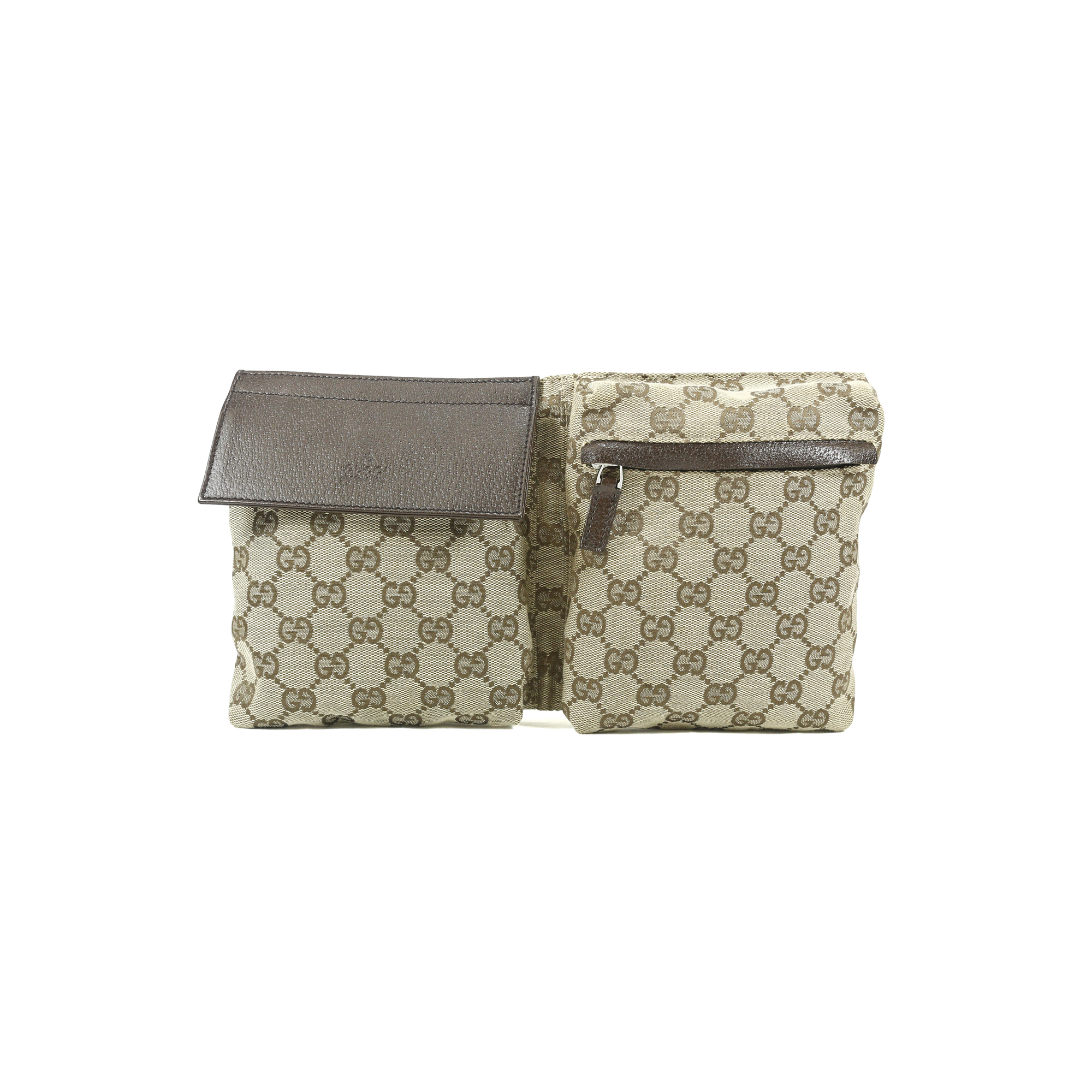 db45468fee1f1 Authentic Second Hand Gucci Monogram Belt Bag (PSS-004-00072)