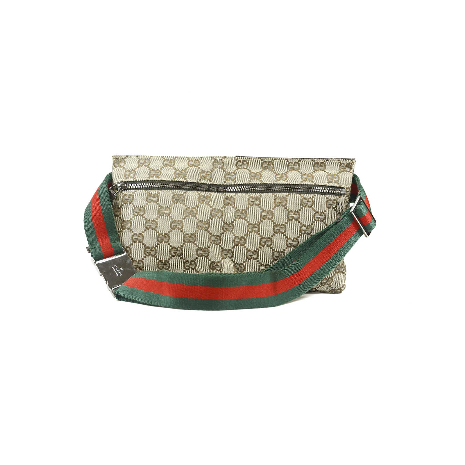 fa27ef4b1ce ... Authentic Second Hand Gucci Monogram Belt Bag (PSS-004-00072) -  Thumbnail ...