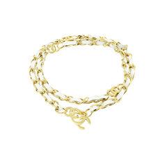 Gilt Chain Woven Belt