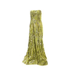 Sequinned Silk Gown