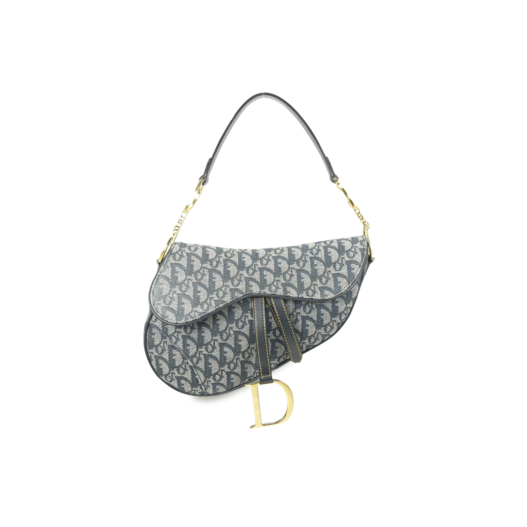 3d4e5032424d Authentic Second Hand Christian Dior Saddle Bag (PSS-034-00001 ...