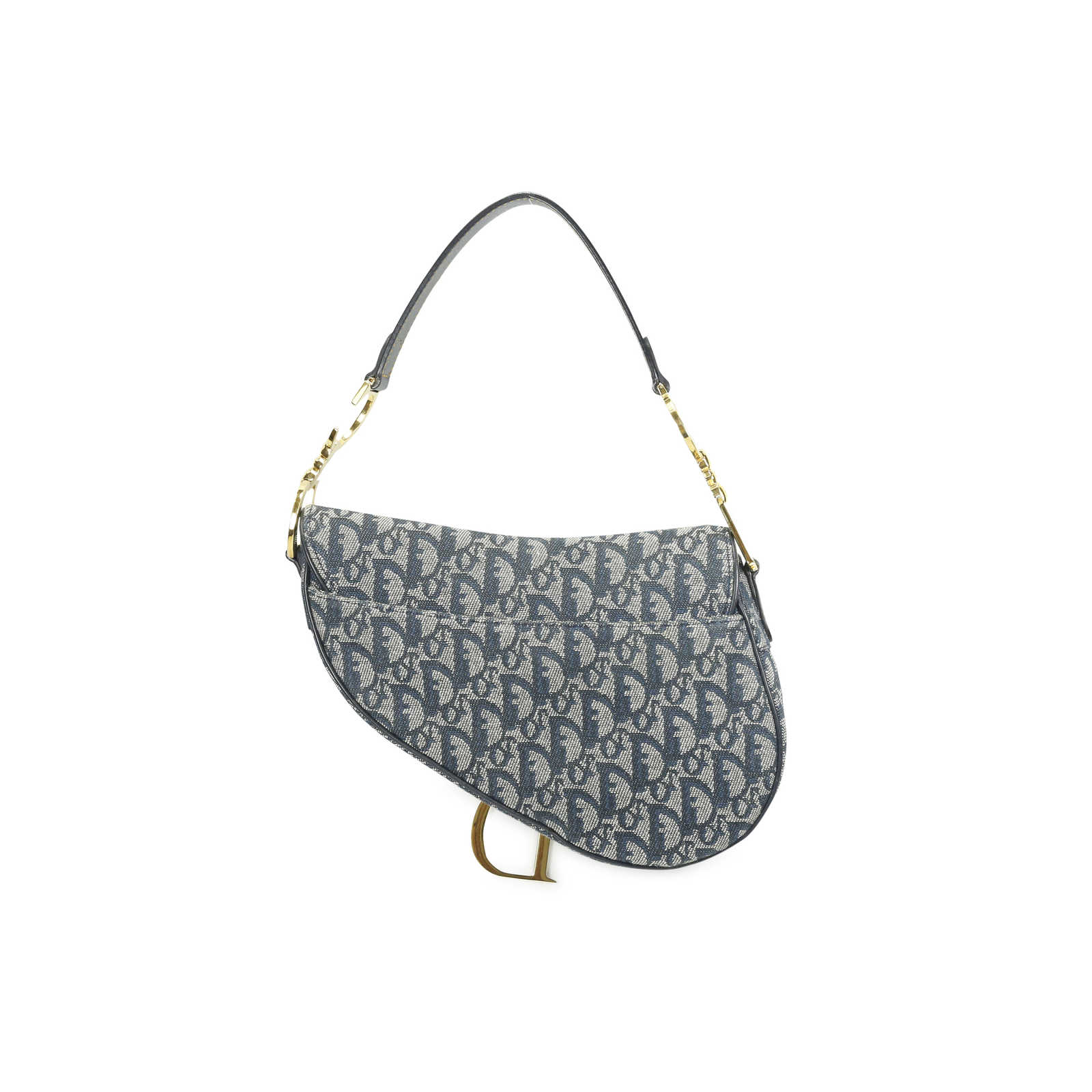 2f566a66855a ... Authentic Second Hand Christian Dior Saddle Bag (PSS-034-00001) -  Thumbnail ...