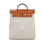 Authentic Vintage Hermès Toile Herbag Backpack (PSS-034-00005) - Thumbnail 0