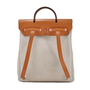 Authentic Vintage Hermès Toile Herbag Backpack (PSS-034-00005) - Thumbnail 1