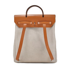 Hermes toile herbag backpack 2