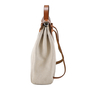 Authentic Vintage Hermès Toile Herbag Backpack (PSS-034-00005) - Thumbnail 2