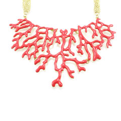 Amrita singh coral necklace 2