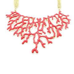 Amrita singh coral necklace 2