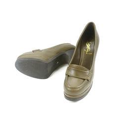 Yves saint laurent jeanne platform heels 2
