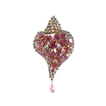 Authentic Vintage Elsa Schiaparelli Conch Shell Brooch (TFC-102-00007)