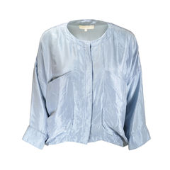 Silk Long Sleeved Blouse