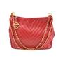 Authentic Vintage Chanel Chevron Shoulder Bag (TFC-107-00007) - Thumbnail 0