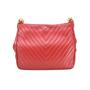 Authentic Vintage Chanel Chevron Shoulder Bag (TFC-107-00007) - Thumbnail 1