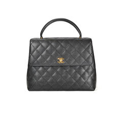 Kelly Quilted Caviar Bag