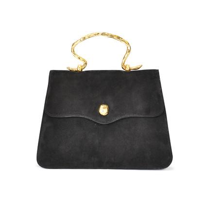 Authentic Vintage Sonia Rykiel Suede Slim Evening Bag (PSS-047-00004)