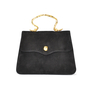 Authentic Vintage Sonia Rykiel Suede Slim Evening Bag (PSS-047-00004) - Thumbnail 0