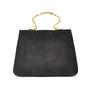 Authentic Vintage Sonia Rykiel Suede Slim Evening Bag (PSS-047-00004) - Thumbnail 1