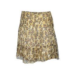 Moschino leopard print skirt 2