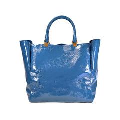 Patent Moon River Tote Bag