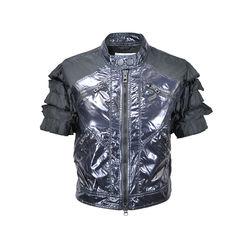 Sports Jacket with Ruffled Sleeves