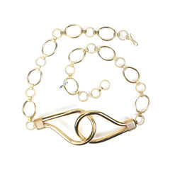 Loop Belt with Chains