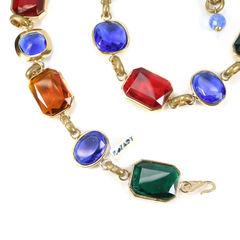 Bozart multi colour gem belt 2