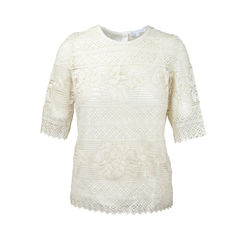 Bailleul Crocheted Cotton Top