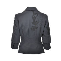 Christian lacroix cropped jacket 2