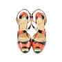 Authentic Second Hand Christian Louboutin Viveka Python Asymmetrical Heels (PSS-062-00002) - Thumbnail 0