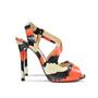Authentic Second Hand Christian Louboutin Viveka Python Asymmetrical Heels (PSS-062-00002) - Thumbnail 1
