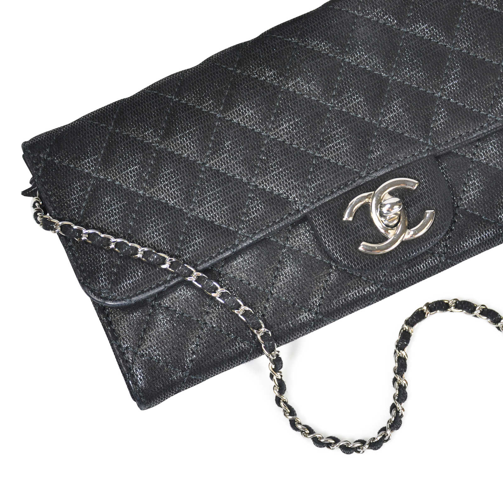 b8a1e89cef9c ... Authentic Second Hand Chanel Long Wallet On Chain Bag (PSS-062-00006)  ...