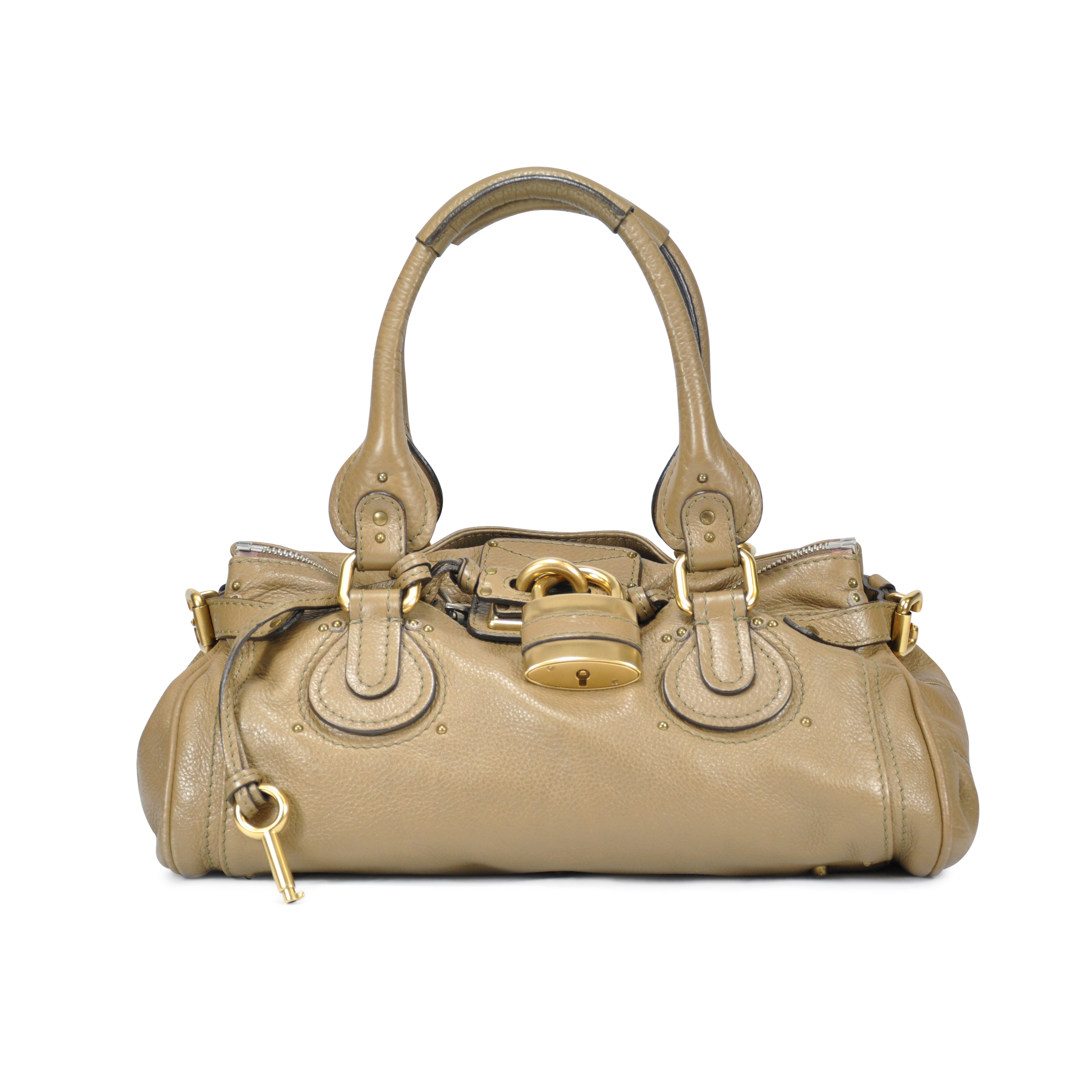 Authentic Second Hand Chloé Paddington Bag (PSS-054-00078)  1139b77640fa2