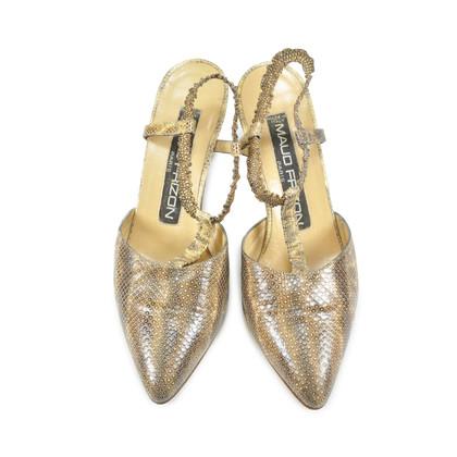 Authentic Vintage Maud Frizon Lizard Print Shoes (PSS-047-00053)