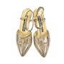 Authentic Vintage Maud Frizon Lizard Print Shoes (PSS-047-00053) - Thumbnail 0