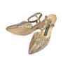 Authentic Vintage Maud Frizon Lizard Print Shoes (PSS-047-00053) - Thumbnail 3