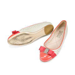 Salvatore ferragamo varina perforated ballerina flats 2