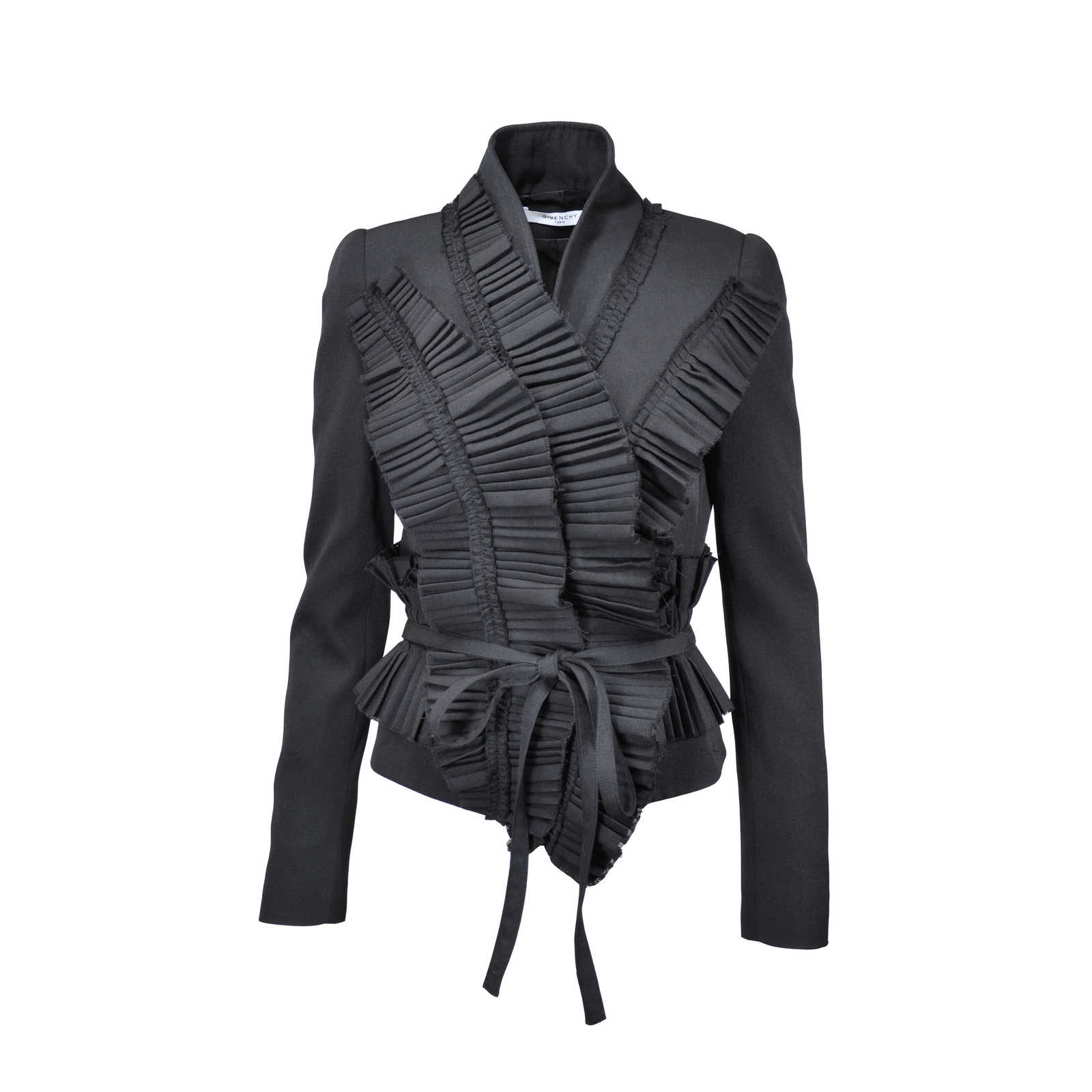 a7d3808dc Authentic Second Hand Givenchy Ruffled Jacket (PSS-023-00041) - THE ...