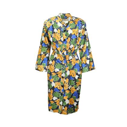 Yellow safari dress