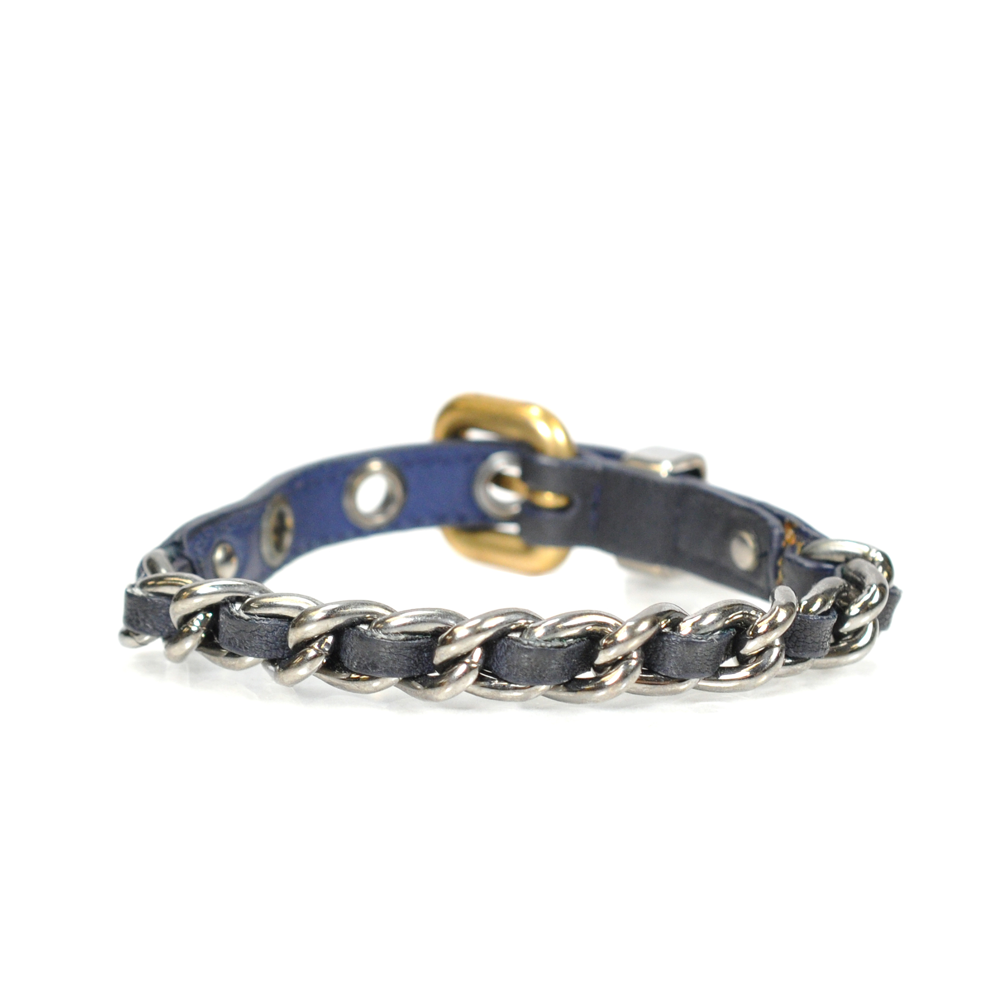 58bfb66d2b4 ... The Fifth Collection Authentic Pre Owned Miu Weave Chain Bracelet Pss  063 00005