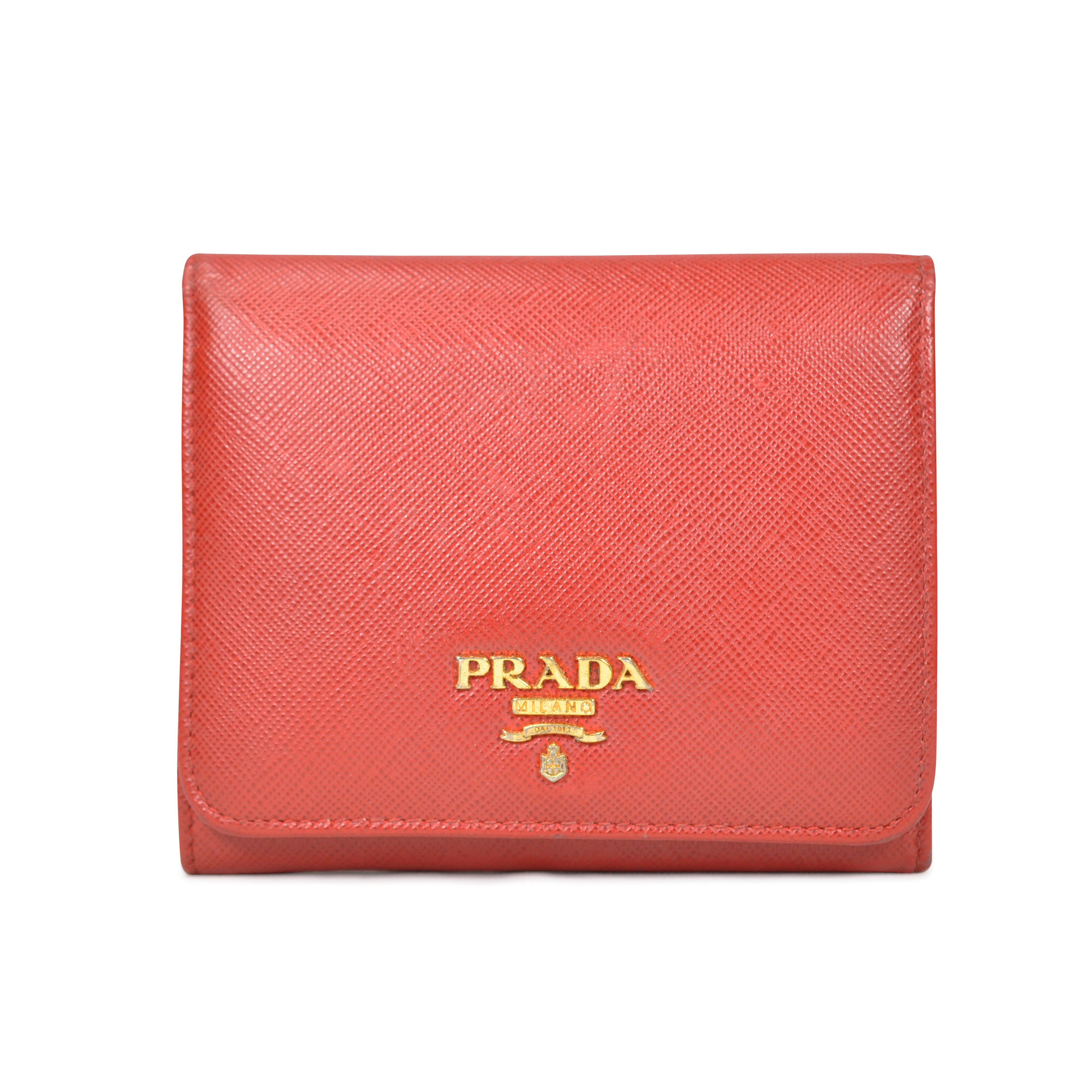 44a34b7134b471 Authentic Second Hand Prada Saffiano Wallet (PSS-059-00004) | THE FIFTH  COLLECTION