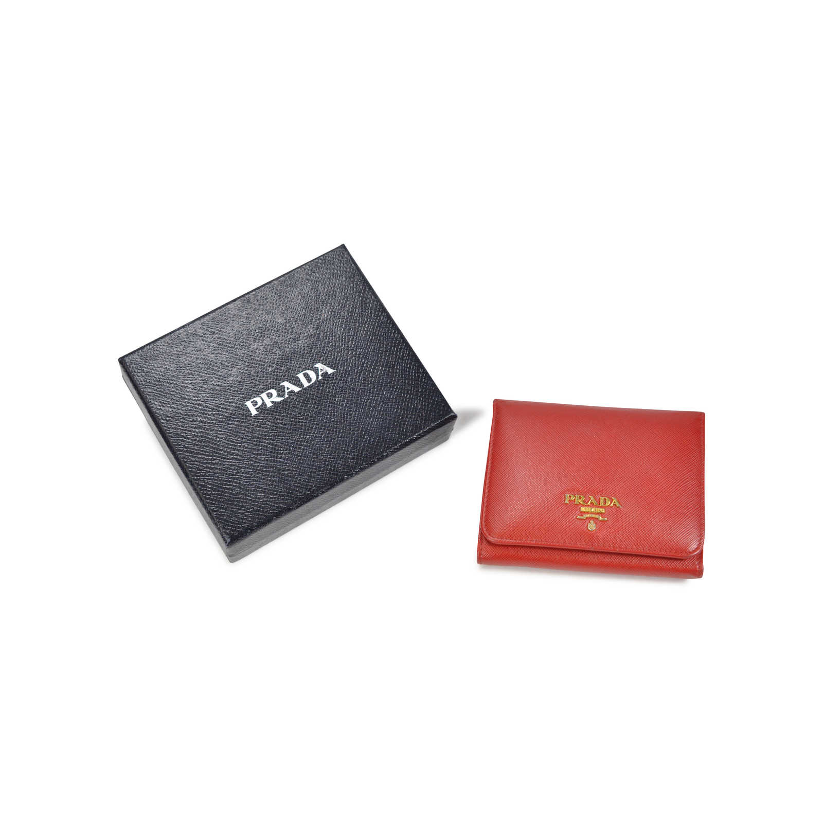 5f564ea5 Authentic Second Hand Prada Saffiano Wallet (PSS-059-00004) - THE ...