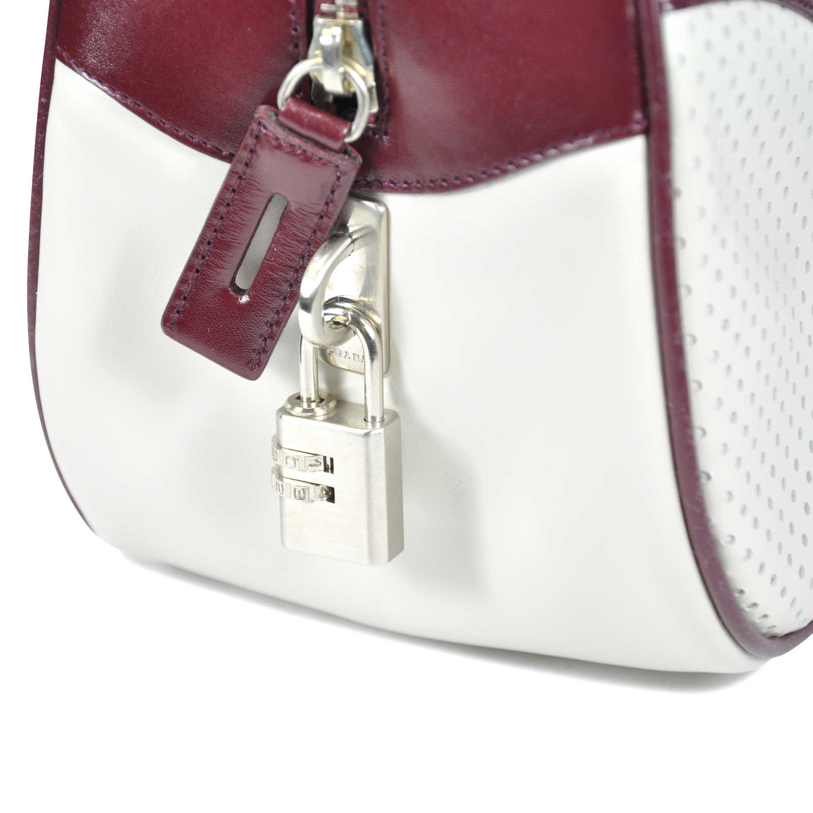 4137573c8bec ... Authentic Second Hand Prada Bowling Bag (PSS-047-00173) - Thumbnail 1  ...