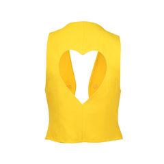 Moschino hear callout vest 2