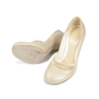 Authentic Second Hand Alexander McQueen Pumps With Crocodile Embossed Heel (PSS-047-00046) - Thumbnail 2