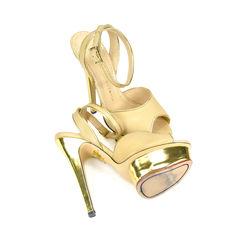 Charlotte olympia irina peep toe sandals 2