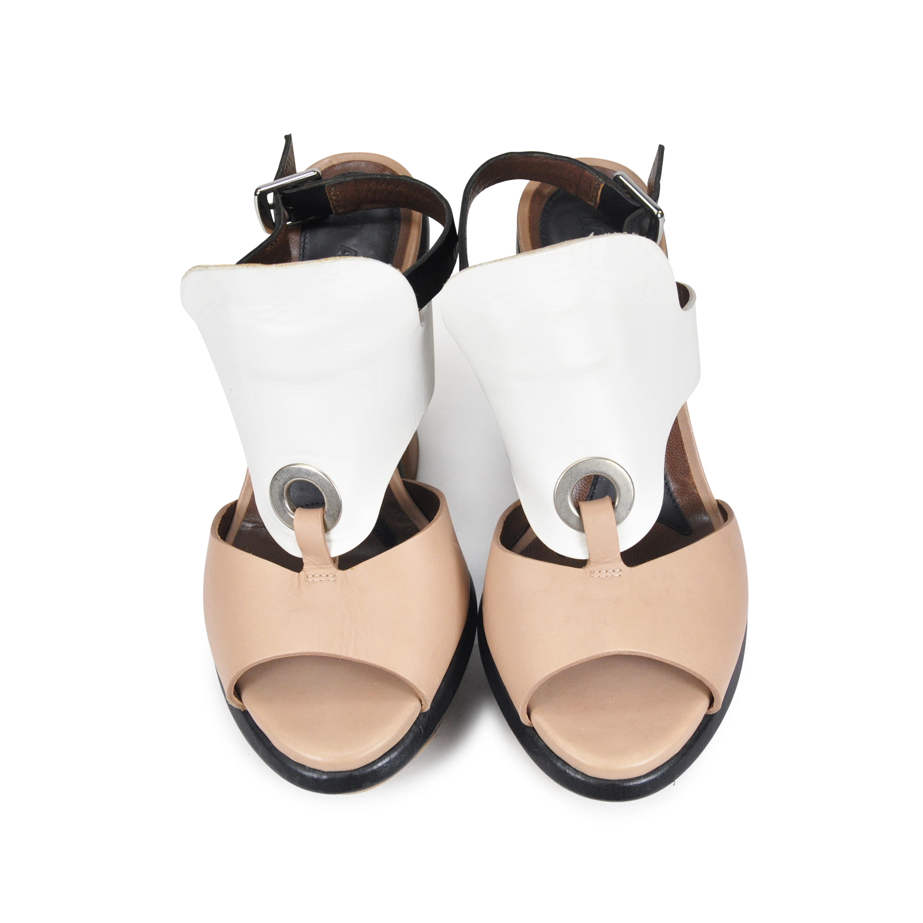 a26f842967b Authentic Second Hand Marni Chunky Heel Sandals (PSS-071-00025 ...