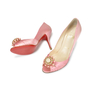 Authentic Second Hand Christian Louboutin Pompadouce Peep Toes (PSS-071-00030) - Thumbnail 1
