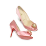 Authentic Second Hand Christian Louboutin Pompadouce Peep Toes (PSS-071-00030) - Thumbnail 2